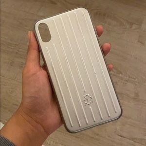 Rimowa Aluminum Groove Case for iPhone XS Max